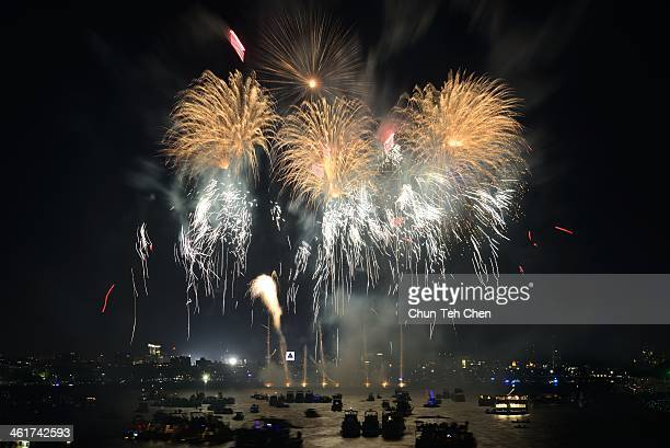 The Boston Pops Fireworks Spectacular on July 4th, 2013. The photo was taken on the Longfellow Bridge.