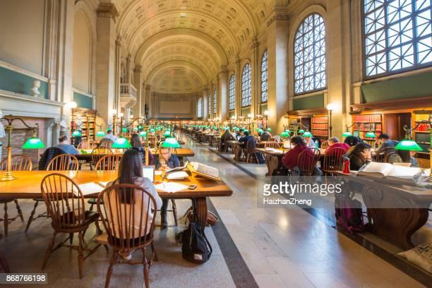La biblioteca pública de Boston