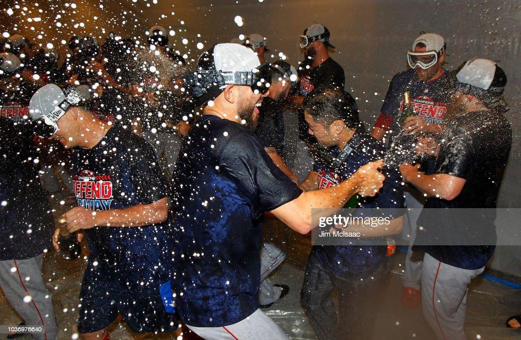 Boston Red Sox v New York Yankees : Fotografia de notícias