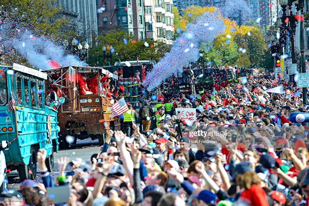 Red Sox World Series Parade : News Photo