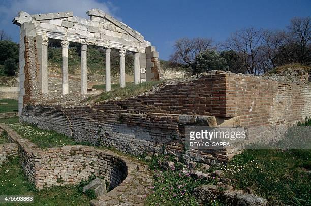 The Bouleuterion at Apollonia Albania Greek civilisation
