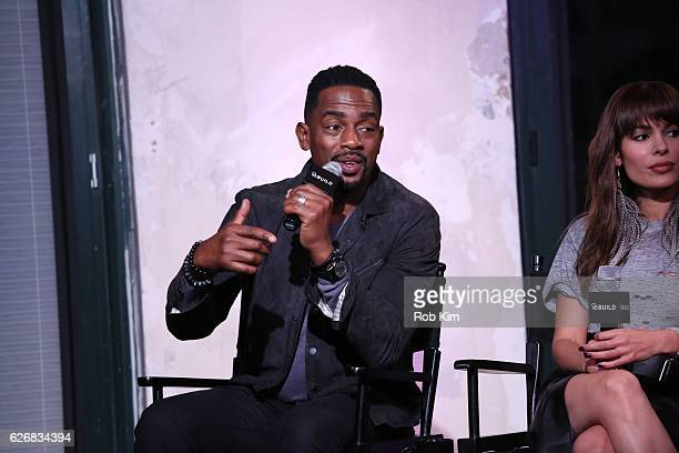 """The Bounce Back"""" cast member Bill Bellamy discusses about new movie at the Build Series at AOL HQ on November 30, 2016 in New York City."""