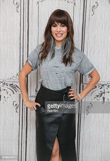 """The Bounce Back"""" cast member Nadine Velazquez attends the Build Series at AOL HQ on November 30, 2016 in New York City."""