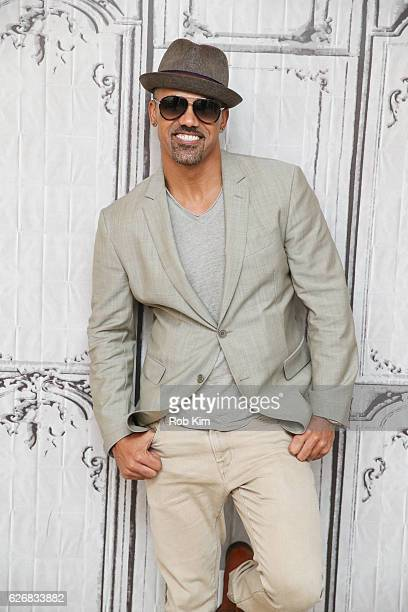 """The Bounce Back"""" cast member Shemar Moore attends the Build Series at AOL HQ on November 30, 2016 in New York City."""