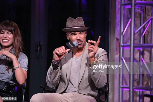 """The Bounce Back"""" cast member Shemar Moore discusses new movie at the Build Series at AOL HQ on November 30, 2016 in New York City."""