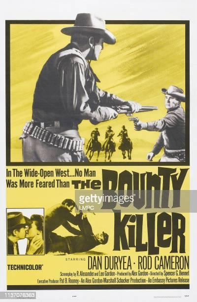 The Bounty Killer poster US poster art left insert Dan Duryea Audrey Dalton 1965