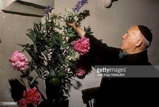 The Bouquet Of The Priest In France In 1987 Abbe Montgomery is a master floral artThe night before he works very late Mass was the beautification of...