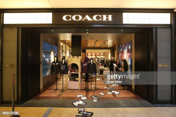 The boutique exterior during the Disney x Coach Collection and Pop-Up Launch at South Coast Plaza on May 15, 2018 in Costa Mesa, California.
