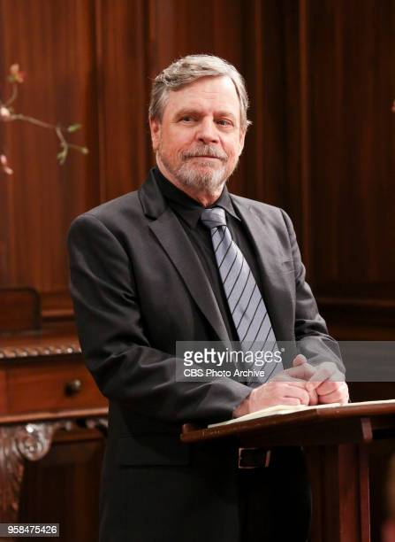 'The Bow Tie Asymmetry' Pictured Mark Hamill When Amy 's parents and Sheldon 's family arrive for the wedding everybody is focused on making sure all...