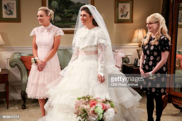 'The Bow Tie Asymmetry' Pictured Penny Amy Farrah Fowler and Bernadette When Amy's parents and Sheldon's family arrive for the wedding everybody is...