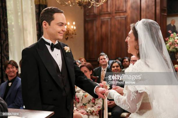 'The Bow Tie Asymmetry' Pictured Sheldon Cooper and Amy Farrah Fowler When Amy's parents and Sheldon's family arrive for the wedding everybody is...
