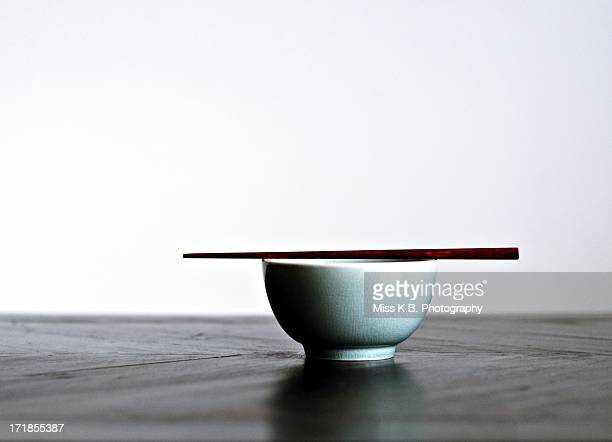 the bowl - chopsticks stock pictures, royalty-free photos & images