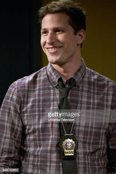 NINE 'The Box' Episode 514 Pictured Andy Samberg as Jake Peralta