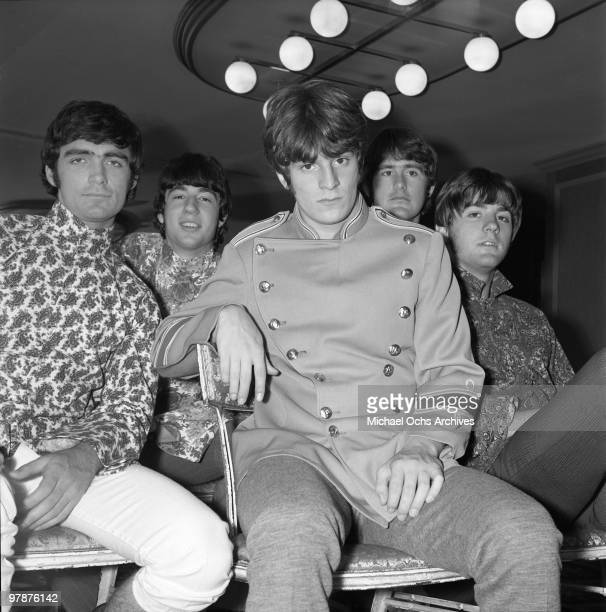 The Box Tops pose for a portrait on May 2 1968 in New York City New York Alex Chilton is front and center