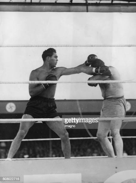 The boxer Max Schmeling and Paulino Uzcudun About 1930 Photograph