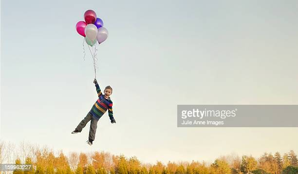 The boy and the balloons