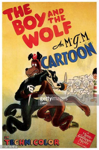 The Boy And The Wolf poster poster art 1943