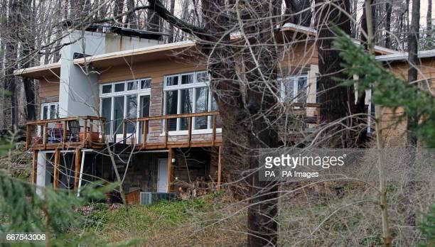 The boyhood home of infamous serial killer Jeffrey Dahmer in Bath Township Ohio