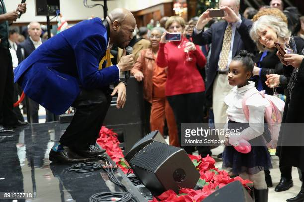 The Boys and Girls Choir of Harlem Alumni Ensemble perform onstage as Brooks Brothers celebrates the holidays with St Jude Children's Research...