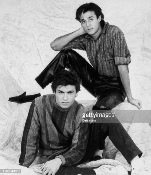 The boys of Wham George Michael and Andrew Ridgeley are giving Duran Duran a run for their money in the British sweepstakes for teenage pop pinup