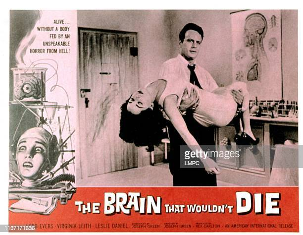 The Brain That Wouldn't Die lobbycard Virginia Leith Jason Evers 1962