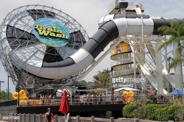 The brain wash ride at the Wet'n Wild water park