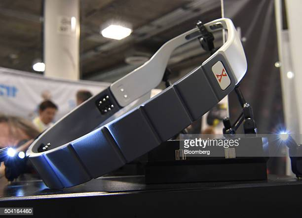 The Brainbit wearable EEG is displayed during the 2016 Consumer Electronics Show in Las Vegas Nevada US on Friday Jan 8 2016 CES is expected to bring...