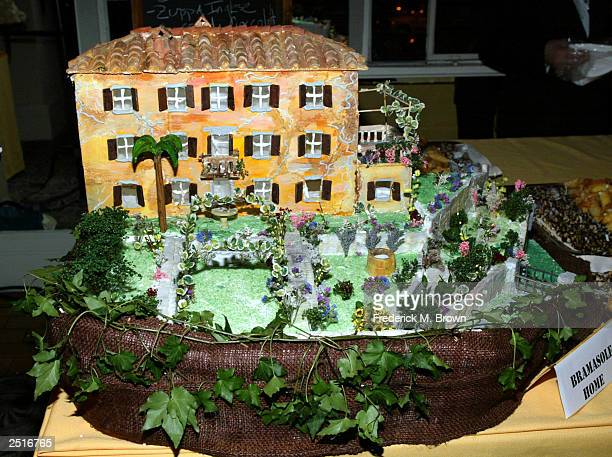 The Bramasol candy house on display during the after party for the film premiere of Under The Tuscan Sun at the Roosevelt Hotel on September 20 2003...