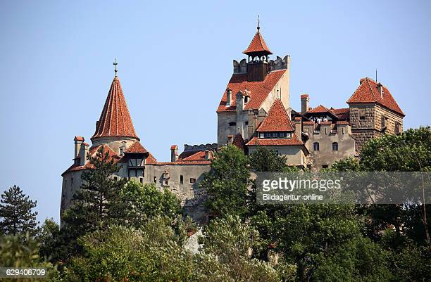 the Bran Castle Dracula Castle Brasov County Transylvania Romania