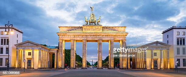 The Brandenburg Gate (Brandenburger Tor), Berlin, Germany