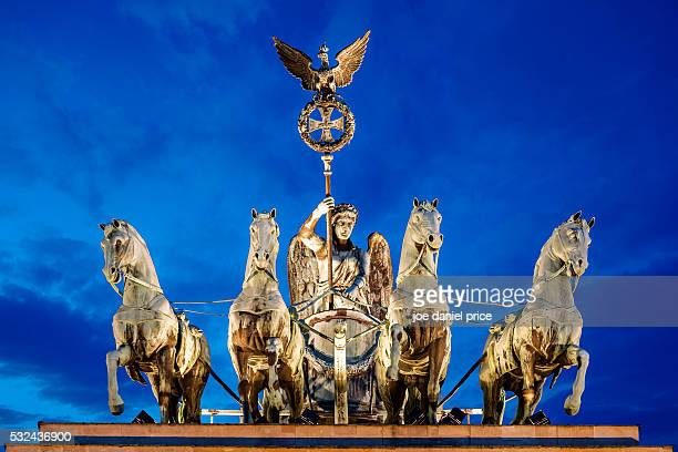The Brandenburg Gate Quadriga, Berlin, Germany