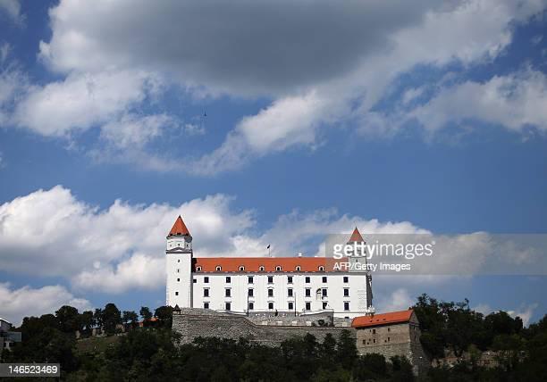 The Bratislava Castle is seen in Bratislava on June 15 2012 AFP PHOTO / ALEXANDER KLEIN