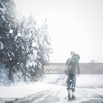 The brave walk alone