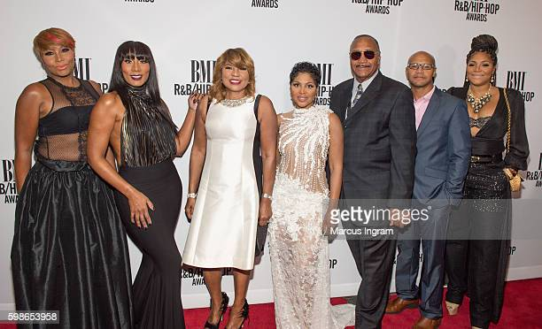 The Braxtons attend the 2016 BMI R&B/Hip-Hop Awards at Woodruff Arts Center on September 1, 2016 in Atlanta, Georgia.
