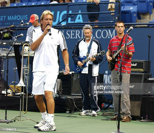 The Brayn Brothers during Gibson/Baldwin Presents Night at the Net To Benefit MusiCares Foundation Celebrity Tennis at UCLA in Los Angeles CA United...