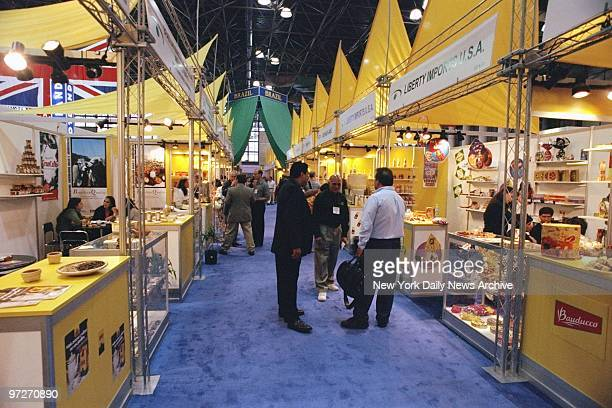 The Brazilian food section at the Fancy Food Show in the Javits Center