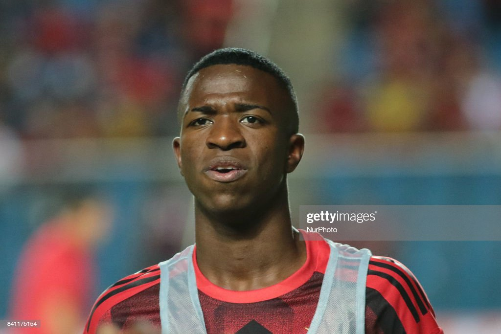 Professional footballer Vinicius Junior
