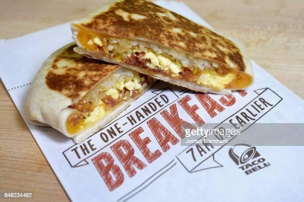 The Breakfast Crunchwrap is a staple on Taco Bell's breakfast menu
