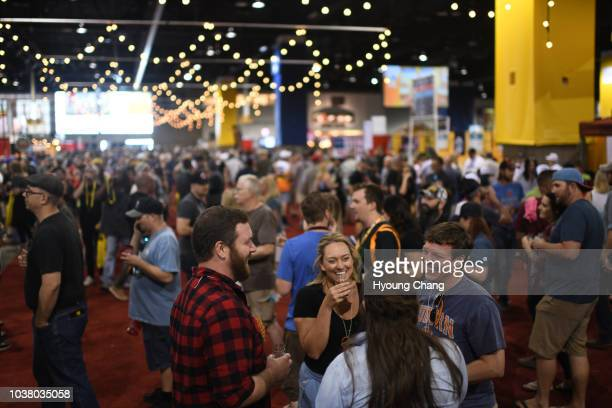 The Brewers Association hosted thousands of beer enthusiasts during the 36th Great American Beer Festival at Colorado Convention Center Attendees...