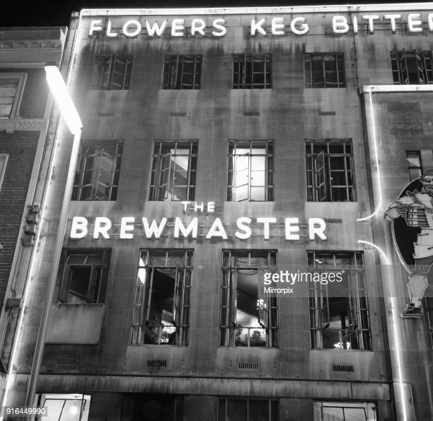 The Brewmaster pub on the corner of Cranbourn Street and Leicester Square London 22nd September 1961