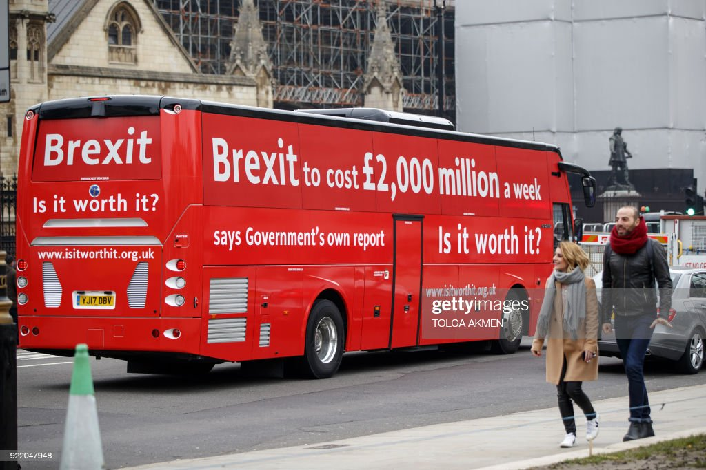 Battle of the Red Buses: Anti-Brexit Campaigners Hit the Road