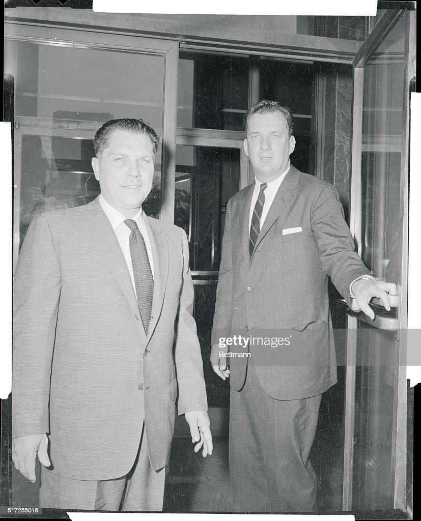 Jimmy Hoffa with Edward Bennett Williams Pictures | Getty Images