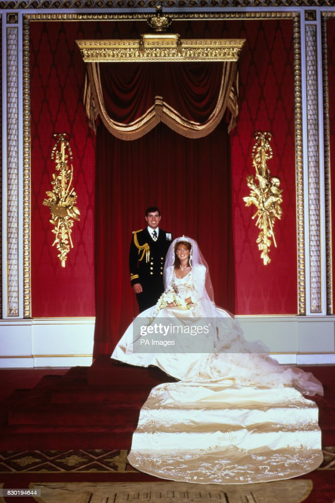 Royalty - Duke and Duchess of York Wedding - Westminster Abbey : News Photo