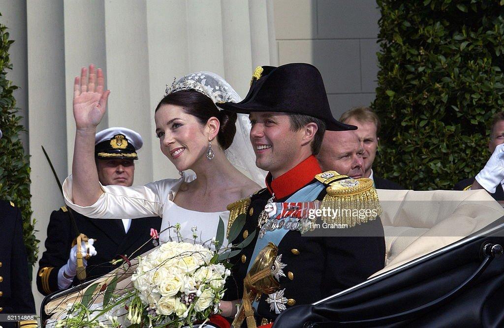 Prince Frederik And Mary Of Denmark : News Photo