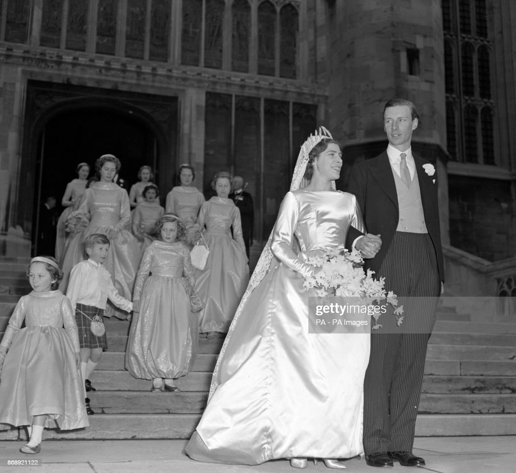 Anne Abel Smith and David Liddell-Grainger Wedding - Windsor : News Photo