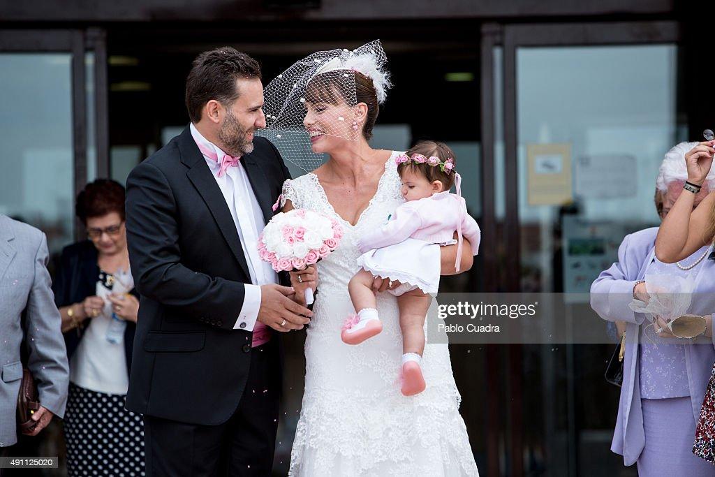 The Bride Carolina Casado Groom Raul Pastor And Their