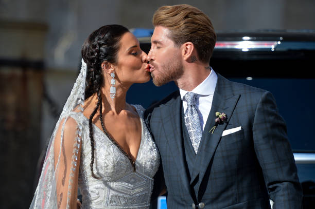 ESP: Sergio Ramos And Pilar Rubio Wedding In Seville