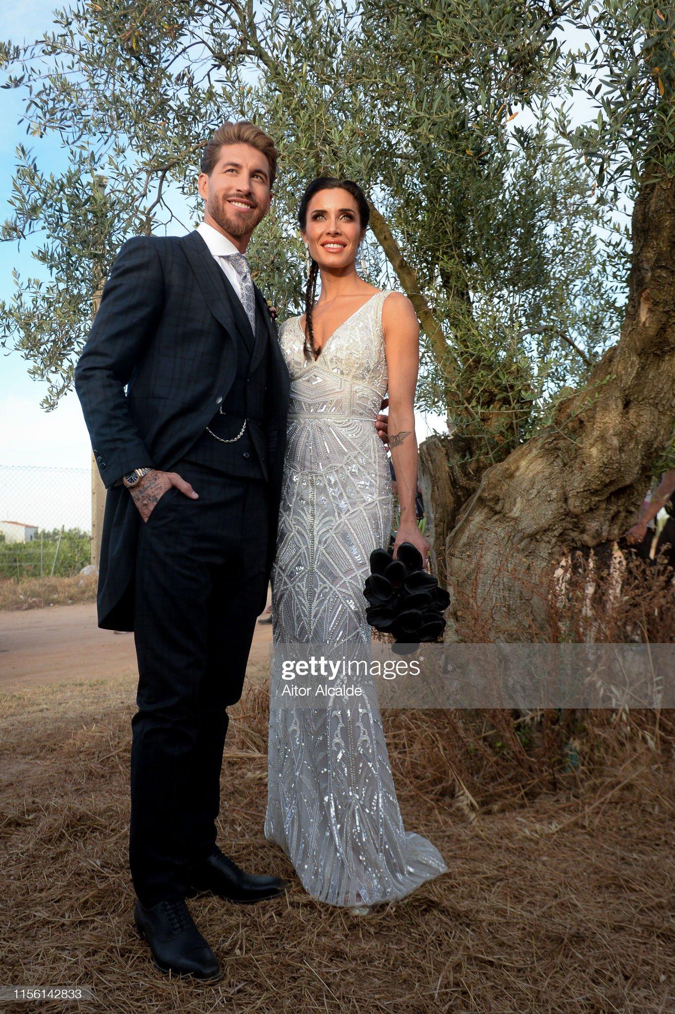 Sergio Ramos And Pilar Rubio Wedding In Seville : Foto di attualità