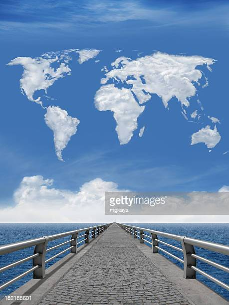 The Bridge And World Map