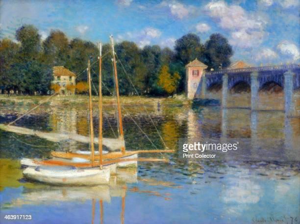 'The Bridge at Argenteuil' 1874